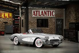 Fuel Bespoke Design Aussie John Ward Of Fuel Bespoke Design Took A 1958 Corvette