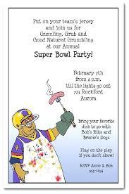 Super Bowl Invitation Ideas Football Chef Super Bowl New Football