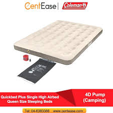 queen size air mattress coleman. Coleman Camping Bed Plus Single High Airbed Queen Size Sleeping Beds Pump Cam Folding . Air Mattress