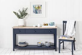 blue console table. Florence Console Table - NAVY BLUE. Previous Blue N