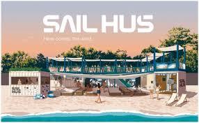 今年の夏はスマートなビーチ滞在を ストレスフリーな海の家sail Hus