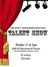 Talent Show Agbu Vatche Tamar Manoukian High School