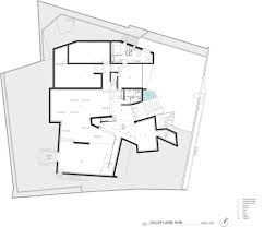 Gallery of In Progress  Daeyang Gallery and House   Steven Holl    Gallery Level Plan © Steven Holl Architects