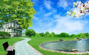 Screen Picture Free Download Lake View Blue Color Water Wallpapers Screen