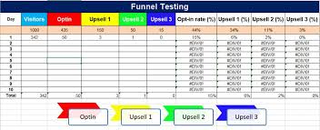 Tracking Sales In Excel Sales Funnel Excel Template Free Download Tracking And
