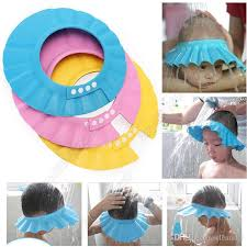baby shower cap. Contemporary Baby 2018 Adjustable Infant Shampoo Cap Bath Baby Shower Waterproof  Hat Bathing Wash Hair Shield 1000p From Cleansky  To