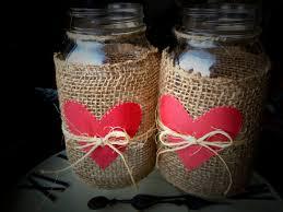 Decorating Canning Jars Gifts Valentine Mason Jars Heart Mason Jars Valentines Day Decor 99