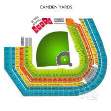 Boudd Camden Yards Seating Chart