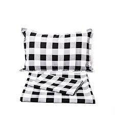 plaid bedding set twin