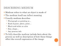 descriptive essay artwork artistic elements exploring art through descriptive writing