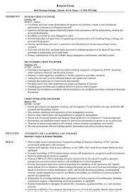 Engineer Chief Resume Samples Velvet Jobs