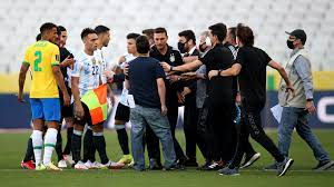 Brazil-Argentina suspended as health ...