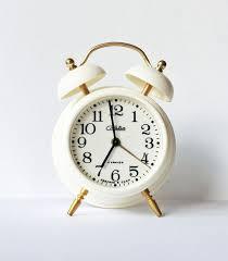 vintage russian mechanical alarm clock slava from soviet union era never used