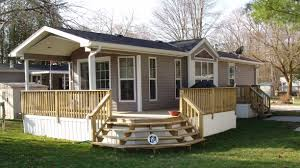 mobile home deck designs