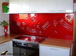 Red Lacquer Kitchen Cabinets Design Magnificent Kitchen Astonishing Contemporary Red And Black