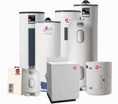 rheem water heater. emergency 24 hour plumbing service and water heater tank replacement fix repair for cuyahoga rheem m