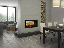 seeing double new see through fireplace range completehome with regard to see through fireplaces renovation