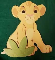 disney lion king shaped wall sticker