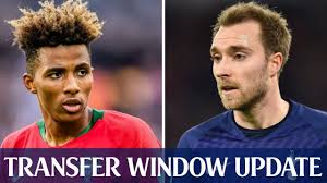 Gedson Fernandes Opts For Spurs Over West Ham | Eriksen Agrees Personal  Terms With Inter Milan - YouTube