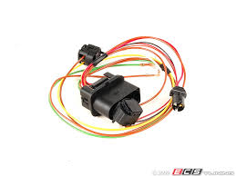 genuine volkswagen audi 3b0971671 headlight wiring harness es 340239 3b0971671 headlight wiring harness repair broken connections and wiring in