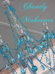 outdoor chandelier makeover