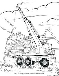 construction equipment coloring pages construction coloring pages construction equipment coloring pages construction crane coloring pages free printable