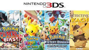 Pokemon Games on 3DS - YouTube