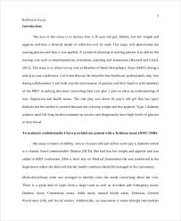 the best reflective essay examples ideas how to  write a nursing exemplar vision specialist