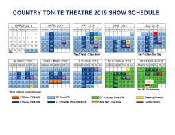Seating Chart For Country Tonite Theatre Pigeon Forge Show Schedule At Country Tonite