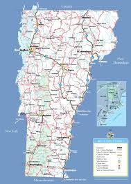 vermont state maps  usa  maps of vermont (vt)