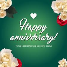 Template Anniversary Card Happy Anniversary Card Template Design Template 1454941