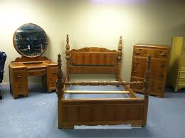 art deco style bedroom furniture. Rare Antique Art Deco Waterfall Style 1930s 3 Pc Bedroom Set Bed With Furniture O