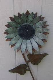 sunflower metal garden art rusty metal sunflower wall art flower wall hanging  on sunflower wall art metal with sunflower metal garden art rusty metal sunflower wall art flower