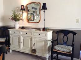 white dining room buffet. Magnificent White Dining Room Buffet With Decorative Lights Antique Wall Mirror And Traditional Chiars Inside D