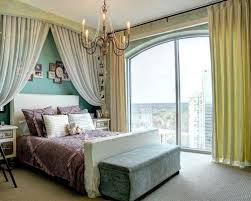 Brilliant Draping Curtains Over Bed Inspiration with Drapes Over Bed Houzz