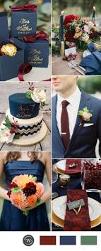 navy blue and yellow wedding decoration ideas. navy blue and burgundy wedding color ideas for 2017 trends yellow decoration