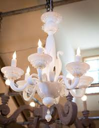 vintage italian murano glass chandelier in excellent condition for in houston tx
