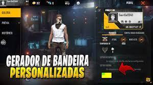 GERADOR DE BANDEIRAS PERSONALIZADAS PARA FREE FIRE – WORLD OF YOUTH NEWS