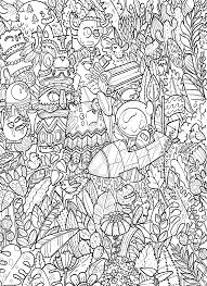 Doodle Coloring Book Color Color Color Coloring Books Coloring