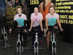 Inspirational mum cycling for six hours to help women battling ...