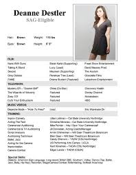 Actress Sample Resumes Awesome Child Actor Resume Template Projects To Try Pinterest Child