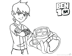 full size of ultimate alien coloring pages to print force colouring pictures printable free ben 10