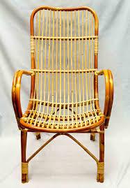 height back chair rattan chair