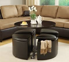 Living Room Bench Seating Storage Storage Round Ottoman Coffee Table With Storage Zab Living Benches
