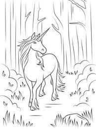 forest unicorn coloring page from unicorn select from 20946 printable crafts of cartoons