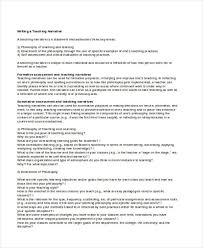 writing examples teaching narrative