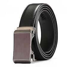 product images gallery leather belt men s automatic buckle casual