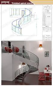 exterior metal staircase prices. exterior stair design/ metal used /stainless steel staircase design prices
