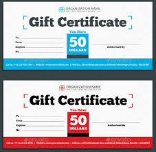 21 Restaurant Gift Certificate Templates Free Sample