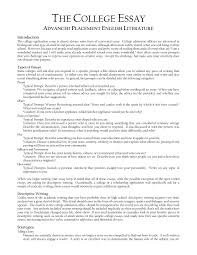 College Application Essay College Application Essay Examples Format World Of Example 19